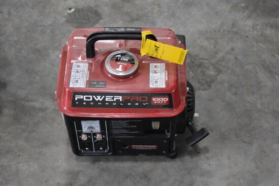 Power Pro 1000 watt generator