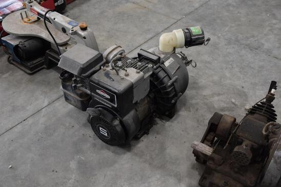 Briggs and Stratton 5HP motor with Pacer Pump