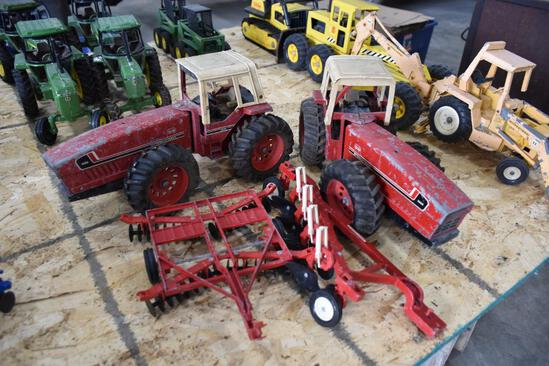2 International tractors and implements