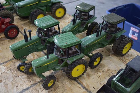 4 John Deere tractors