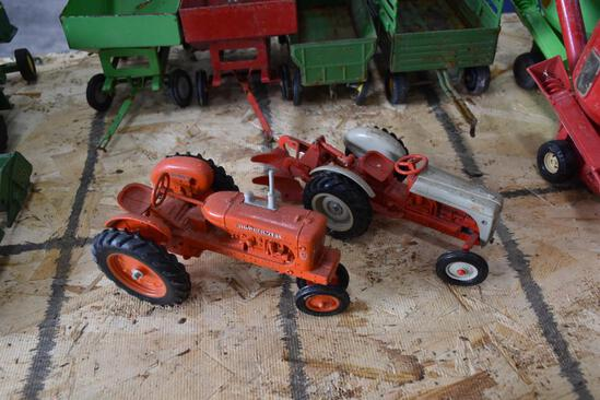 Allis Chalmers and Ford tractors