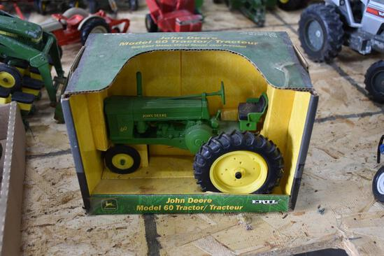 John Deere 60 tractor in box