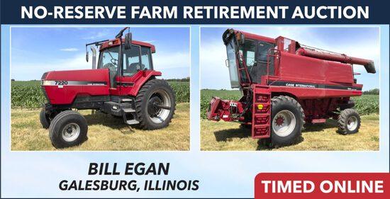 No-Reserve Farm Retirement Auction - Egan