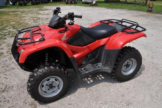 2013 Honda Rancher 420 4wd ATV