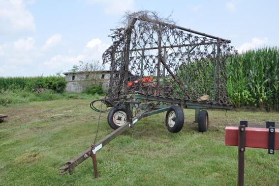 Logan 32' True-Flex pasture harrow