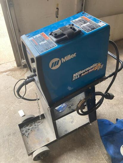 Millermatic 211 auto set mig welder w/ MVP