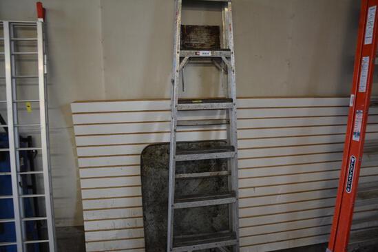 6' alum. Step ladder