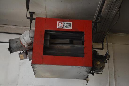 Clean Burn multi oil furnace