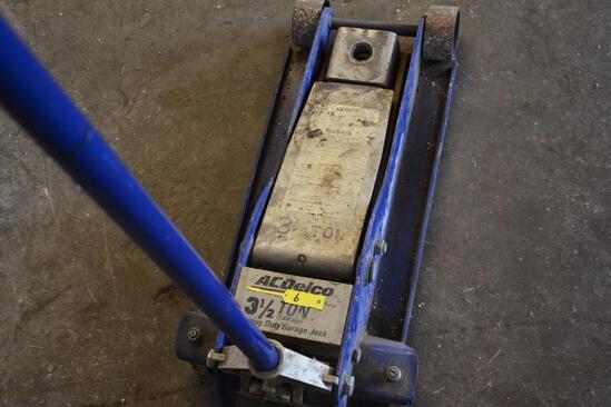 AC Delco 3 1/2 ton floor jack