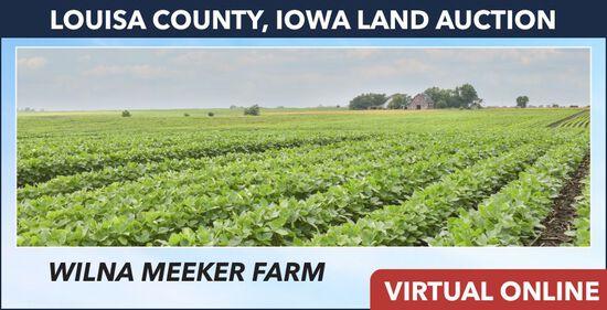 Louisa County, IA Land Auction - Meeker