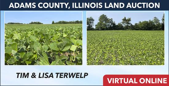 Adams County, IL Land Auction - Terwelp