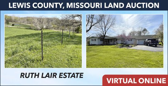 Lewis County, MO Land Auction - Lair
