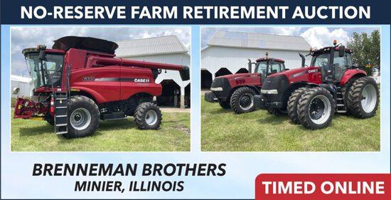 No-Reserve Farm Retirement Auction - Brenneman