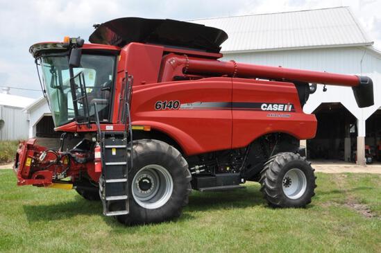 2015 Case-IH 6140 2wd combine