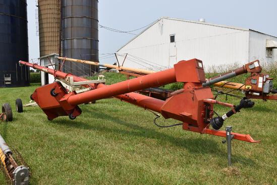 """Farm King 10""""x60' swing-away auger"""