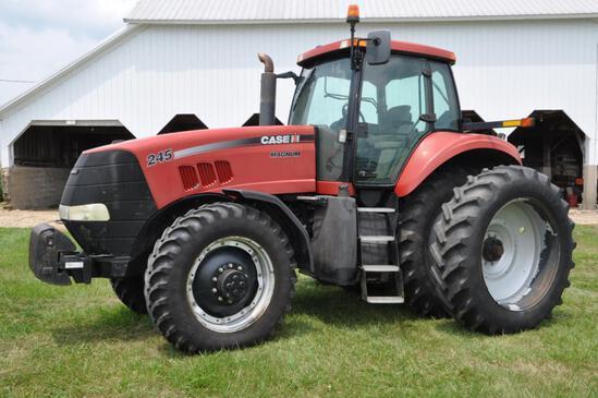 2009 Case-IH 245 Magnum MFWD tractor