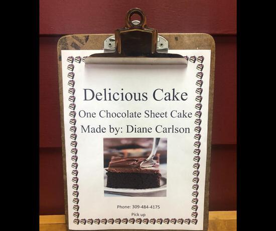 Your Favorite Chocolate Cake