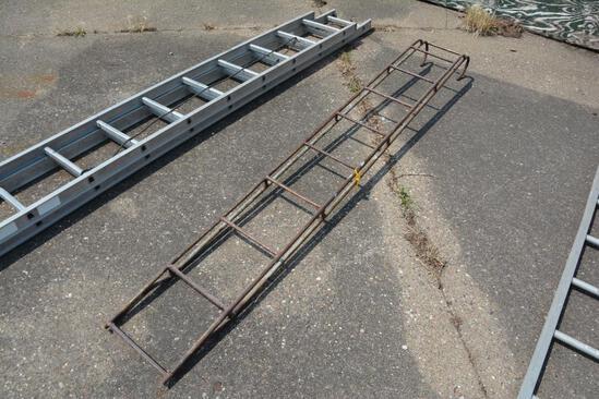 9' grain bin ladder