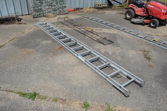 28' alum. Extension ladder
