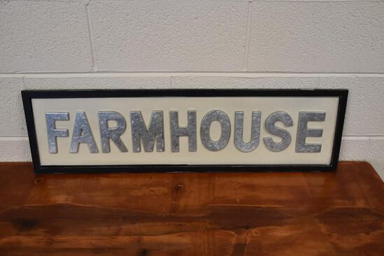 Farmhouse decorative hanging sign