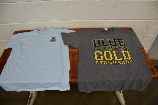(2) Agricultural FFA T-Shirts