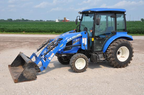 2016 New Holland Boomer 37 MFWD compact utility tractor