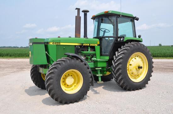 1990 John Deere 4455 MFWD tractor