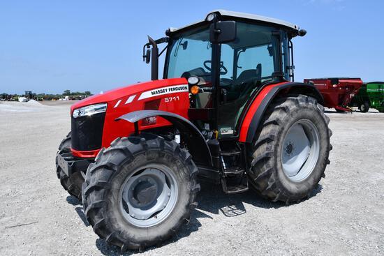 2017 Massey Ferguson 5711 MFWD tractor