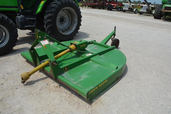 1998 John Deere 709 7' 3-pt. rotary mower
