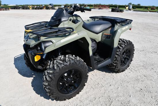 2016 CanAm 450 Outlander L 4wd ATV