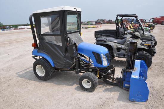 2006 New Holland TZ25DA MFWD compact utility tractor