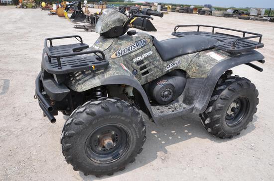 Polaris 500HO Sportsman 4wd ATV