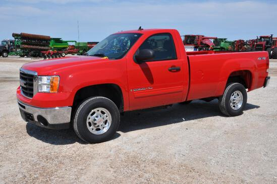 2007 GMC 2500HD 4wd pickup