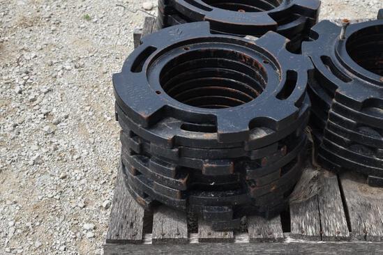 (10) New Holland wheel weights