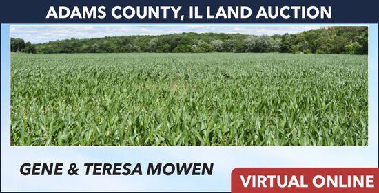 Adams County, IL Land Auction - Mowen