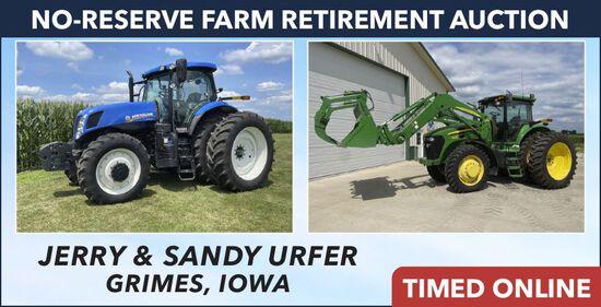 No-Reserve Farm Retirement Auction - Urfer