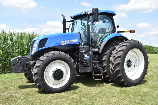 2013 New Holland T7.250 MFWD tractor