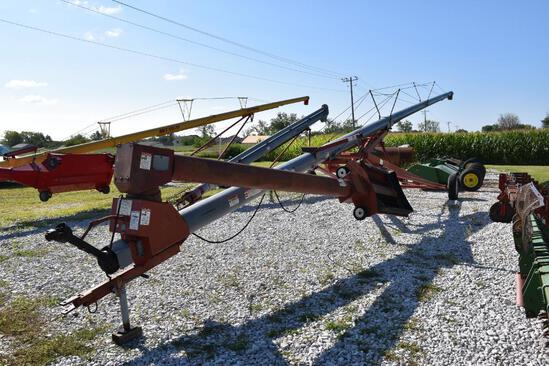 """Hutchinson 10"""" x 72' swing away auger"""