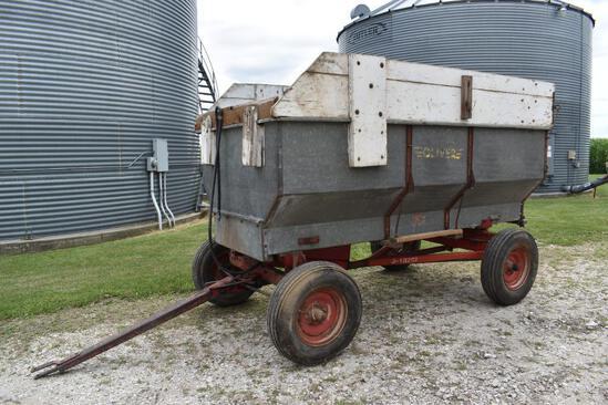 Oliver 727 10' barge wagon