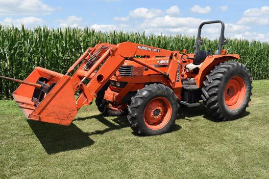 2003 Kubota M9000 MFWD tractor