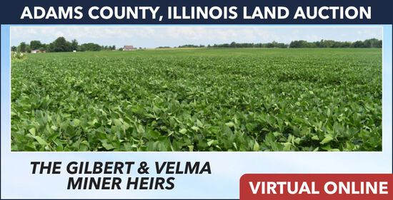 Adams County, IL Land Auction - Miner Heirs