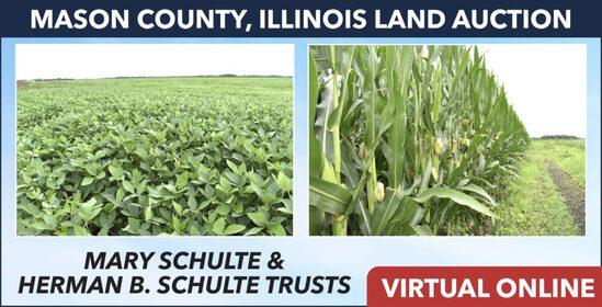Mason County, IL Land Auction - Schulte