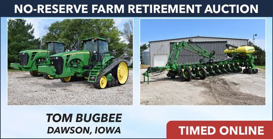 Ring 1: No-Reserve Farm Retirement Auction -Bugbee