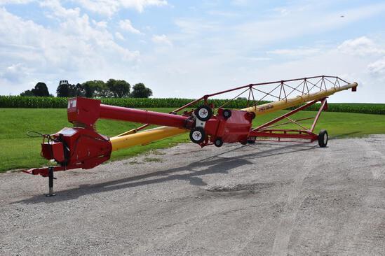 "Westfield MKX 130-84 13"" x 84"" swing away auger"