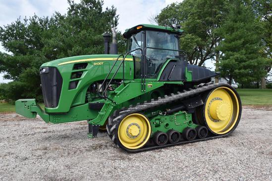 2009 John Deere 9430T track tractor