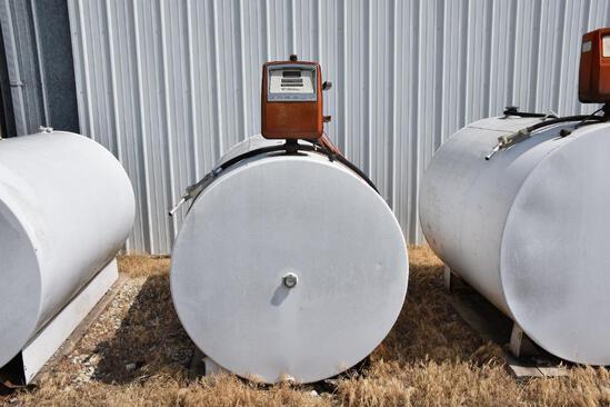 500 gallon fuel barrel w/ Gasboy pump