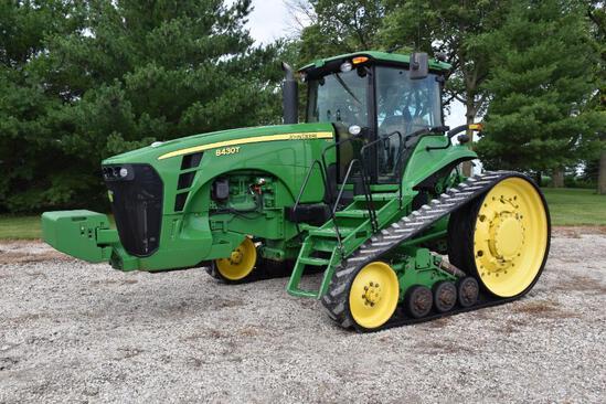 2008 John Deere 8430T track tractor