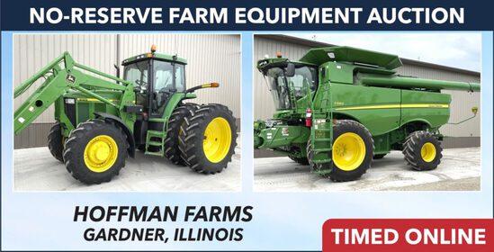 Ring 1: No-Reserve Farm Equipment Auction -Hoffman