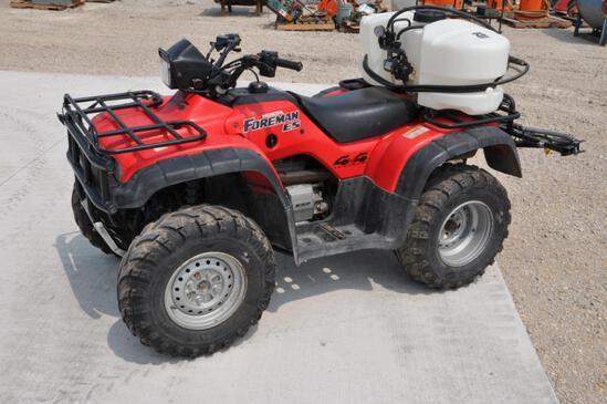 2002 Honda Foreman ES TRX450 4wd ATV