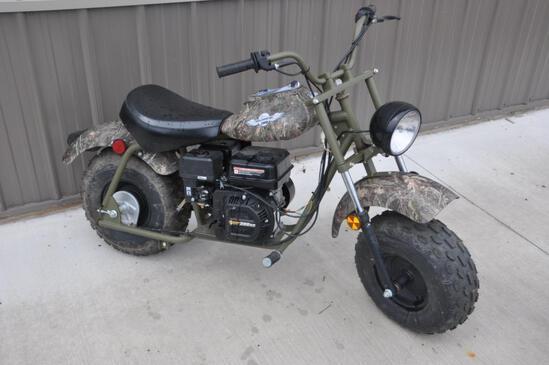 Warrior off-road moto bike